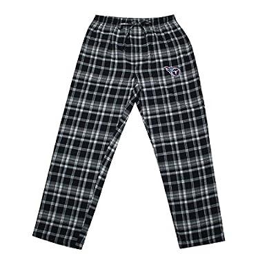 NFL Tennessee Titans MENS Plaid Pajama Pants