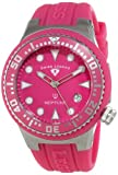 Swiss Legend Women's 11044D-015 Neptune Hot Pink Dial Hot Pink Silicone Watch