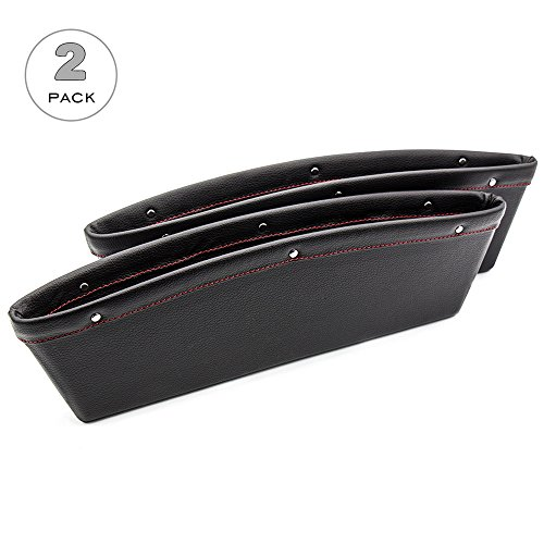car-seat-catcher-ezykoo-refined-leather-car-seat-gap-filler-side-pocket-organizer-for-small-items-ph