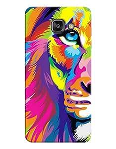 FurnishFantasy 3D Printed Designer Back Case Cover for Samsung Galaxy A7 (2016 Edition)