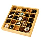 Organic Body Jewelry Wood Counter Display Plugs Tunnels