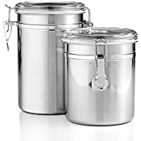 Tools of the Trade 2 Piece Canister Set (Stainless Steel)