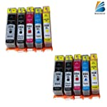 Bosumon Ink Cart for Hp 564xl Use for...