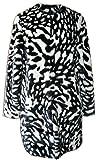 MICHAEL Michael Kors Women's Zebra-Print Faux-Fur Jacket