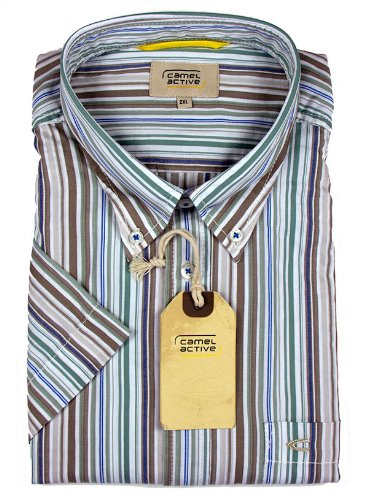 Camel Active Short Sleeve Casual Shirt Reed - XXXXX Large