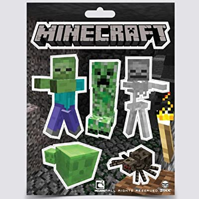 Minecraft Monsters Sticker Pack Bundle - Set Of 5 by Jinx