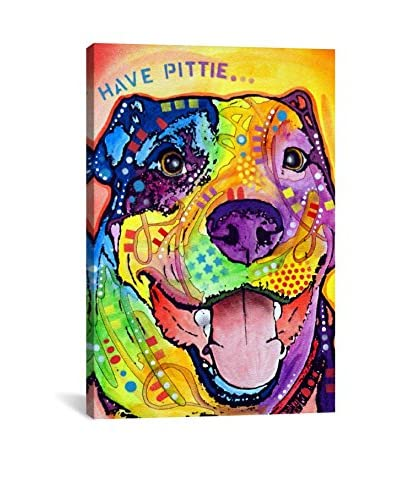 Dean Russo Gallery Have Pittie Canvas Print