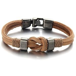 bracelet homme noeud marin c ble acier et or 750 pictures to pin on pinterest. Black Bedroom Furniture Sets. Home Design Ideas