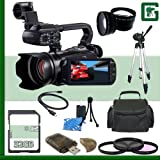 Canon XA10 HD Professional Camcorder 32GB Greens Camera Package 1