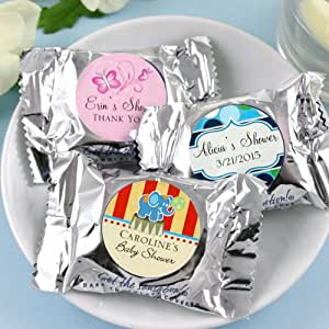 personalized york peppermint patties baby shower favors