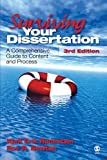img - for Surviving Your Dissertation: A Comprehensive Guide to Content and Process 3rd edition by Rudestam, Kjell E. (Erik), Newton, Rae R. (2007) Paperback book / textbook / text book