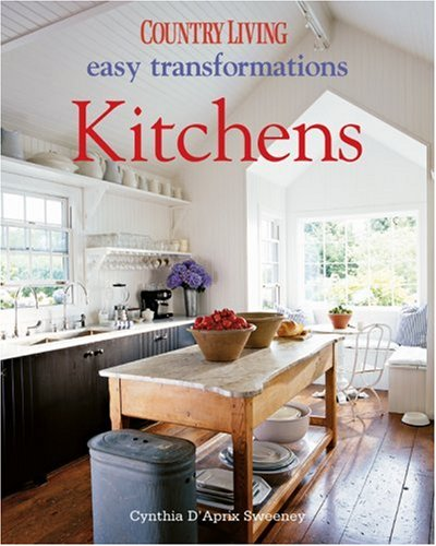 Biography of author cynthia d 39 aprix sweeney booking for Country living 500 kitchen ideas book