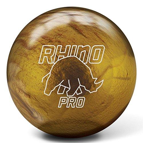 Brunswick Vintage Gold Rhino Pro Bowling Ball (14lbs