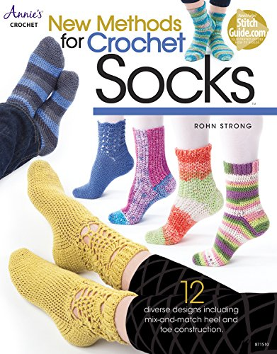 Quick and Easy Christmas Gifts to Make - Knitting, Crochet and Craft Patterns New Methods for Crochet Socks (Annie's Crochet)