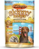 Zukes Skinny Bakes Dog Biscuit, Peanut Butter and Banana Crunch, 12-Ounce