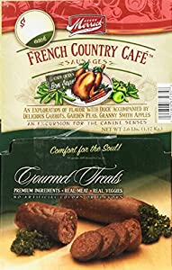 Merrick French Country Cafe Sausages 1.23-Ounce Dog Treats (34 Count)