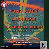 echange, troc Bowen, Bush, Brian, Wallfisch, Bbcco, Yates - Rhapsody for Cello & Orchestra