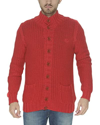 Fred Perry Cardigan rot