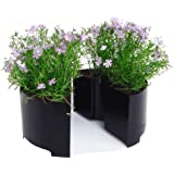 Round Picnic Tabletop Planter Size: Small