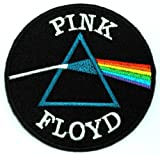 7.3cm x 7.3cm Pink Floyd Progressive Rock Band DIY Applique Embroidered Sew Iron on Patch