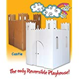 Easy Playhouse Castle (Color: White)