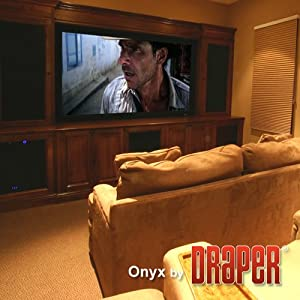 Onyx HiDef Grey Fixed Frame Projection Screen Viewing Area: 10' diagonal