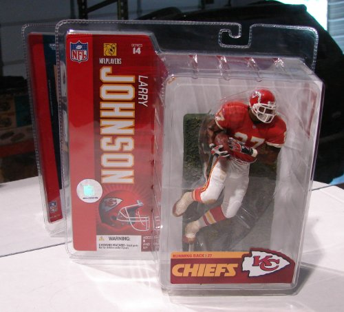 "McFarlane Toys 6"" NFL Series 14 - Larry Johnson Red Jersey"