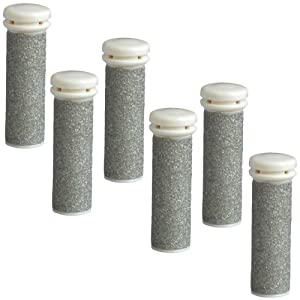 iVog Xbuff Extra Course Chrome Replacement Rollers - 6 Pack (NOT Compatible for the new iVog pedi-love models)
