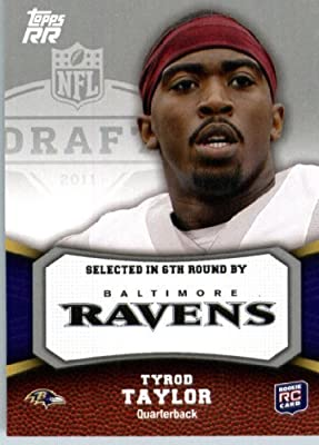 2011 Topps Rising Rookies Football Card #172 Tyrod Taylor RC - Baltimore Ravens (RC - Rookie Card) NFL Trading Card