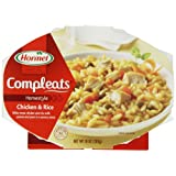 Hormel Compleats Chicken & Rice,10-Ounce Microwavable Bowls, 6 Count ~ Hormel