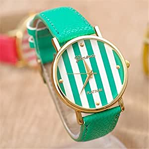 Amazon.com: HACBIWA Fashion Watch for Ladies Dress Quartz ...