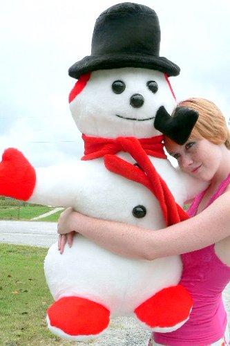 Giant Stuffed Snowman