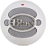 Blue Microphones Snowball Omnidirectional/Cardioid USB Microphone - Whiteby Blue Microphones
