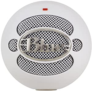 Amazon.com: Blue Microphones Snowball USB Microphone (Textured White): Musical Instruments