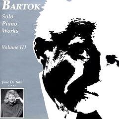 Bartok Solo Piano Works, Volume 3