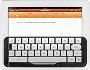 TacType keyboard (formerly the iKeyboard) Black: For iPad 1, 2, 3 & 4