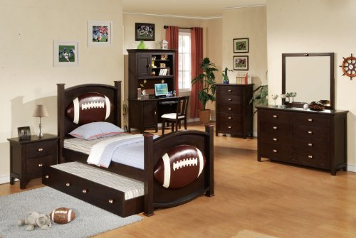 acme 12030 allstar football nightstand espresso finish nufadeta