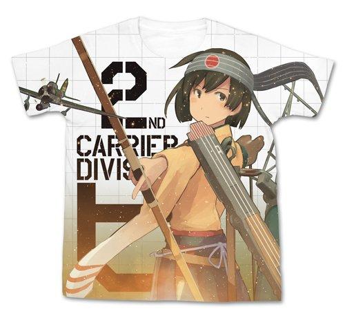 艦隊これくしょん -艦これ- 飛龍改二フルグラフィックTシャツ ホワイト XLサイズ