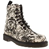 Dr Martens Womens Dm Beckett 8 Eye Skull Boot Boots