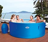 Bestway Lay Z Spa Monaco 8 Person Spa 2013 Rigid Wall Lay Z Spa Lay-Z-Spa Inflatable Hot Tub for Your Home or Garden - Portable Jacuzzi - Heat & Massage