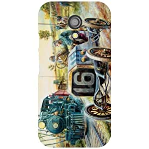 Via flowers Number 16 Matte Finish Phone Cover For Motorola Moto G (2nd Gen)