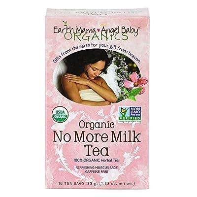 Earth Mama Angel Baby Organic No More Milk Tea, 16 Teabags/Box 35. g (Pack of 3) from Earth Mama Angel Baby