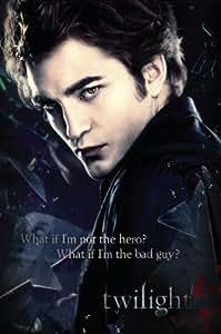 1art1 44014 Poster Twilight Edward What If I'm The Bad Guy? 91 X 61 cm