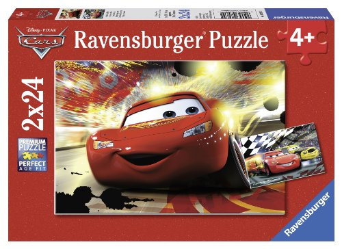 Ravensburger Disney Cars: Cars Grand Entrance (2 x 24-Piece) Puzzles in a Box
