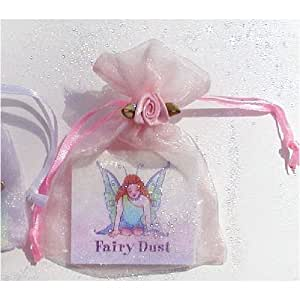 Fairy Dust in Voile Bag with a Poem, Sweet Party Favor