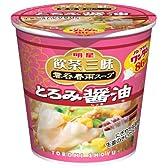 明星 飲茶三昧 雲呑春雨スープ とろみ醤油 25g×6個