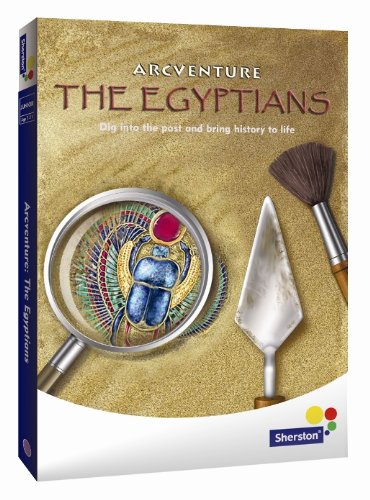 Arcventure The Egyptians - junior history adventure CD-ROM from Sherston for ages 7 to 11 (home user)