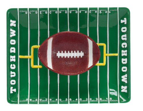 Football Field Chip-and-Dip Set