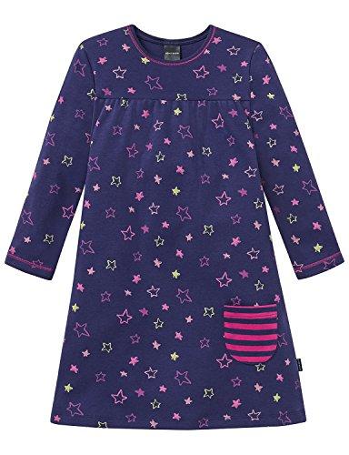 Schiesser Nachthemd 1/1, Camicia da Notte Bambina, Blu (Dunkelblau 803), 8 anni