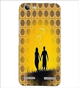 PrintDhaba Couple D-4562 Back Case Cover for LENOVO A6020a46 (Multi-Coloured)